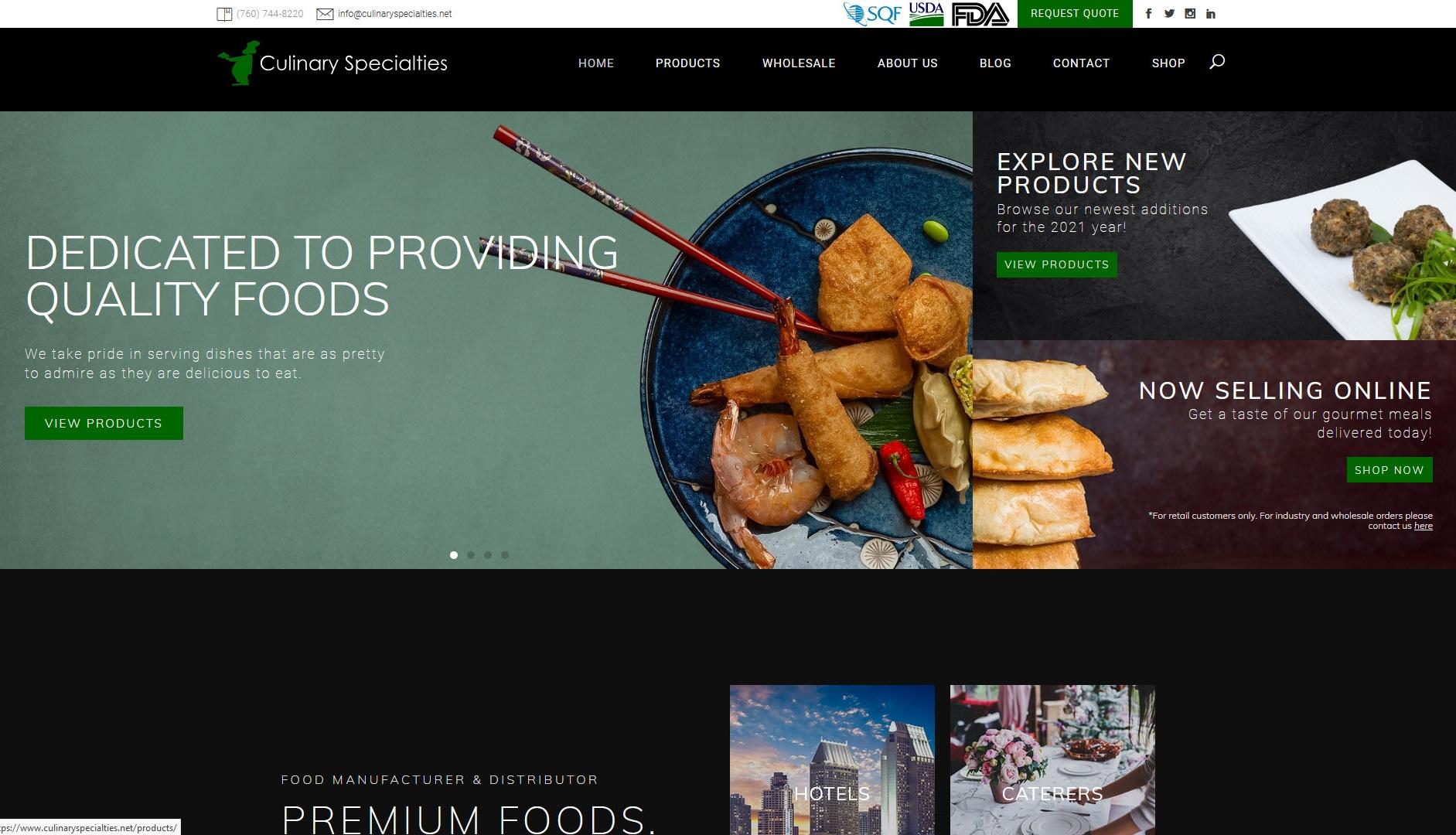 Culinary Specialties